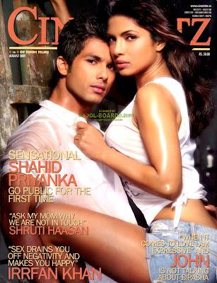 Hot Romantic moment of Shahid Kapoor & Priyanka Chopra  3