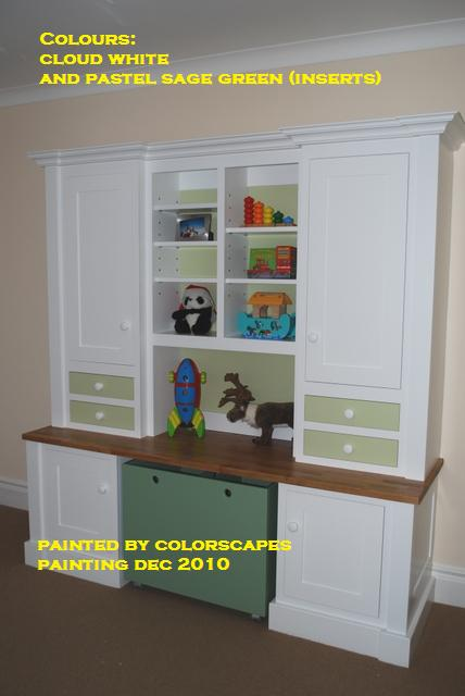 Colorscapes professional painting waterborne lacquer for Acrylic paint for kitchen cabinets