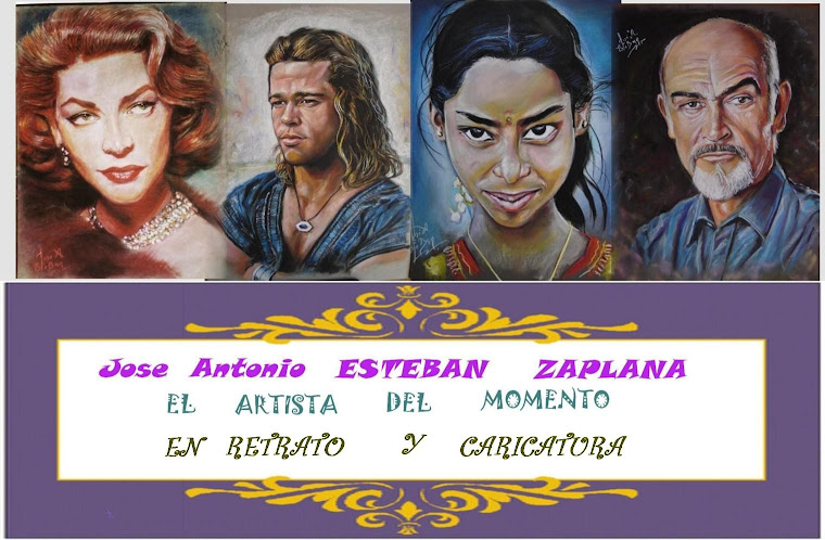 JOSE ANTONIO ESTEBAN  EL ARTISTA DEL MOMENTO