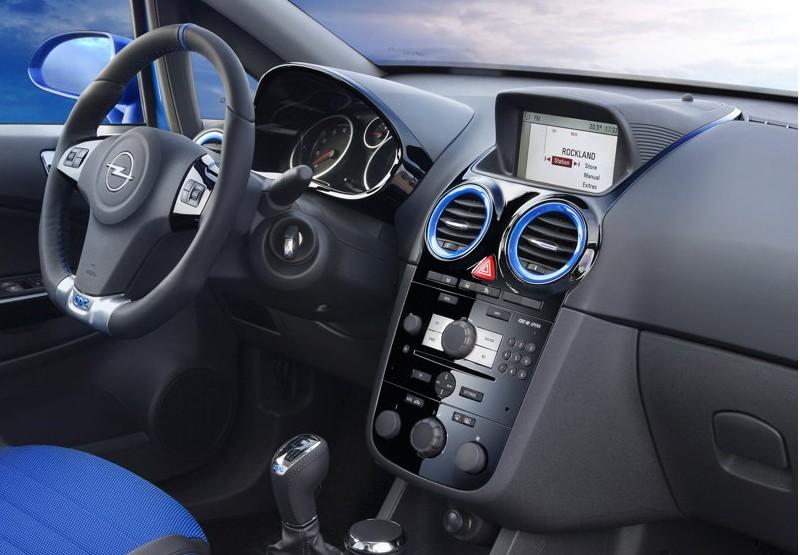 Opel Corsa. Mini Opel Corsa