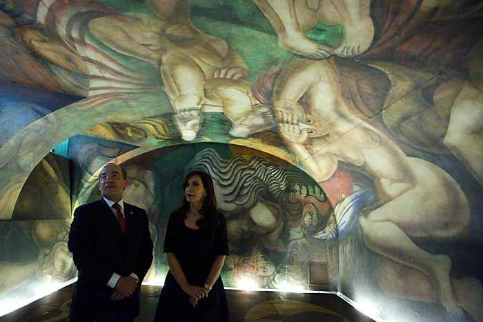 Revoluciones m xico rmx blog del cambio inauguran for El mural de siqueiros en argentina