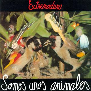 Extremoduro Extremoduro-Somos-Unos-Animales-Delantera