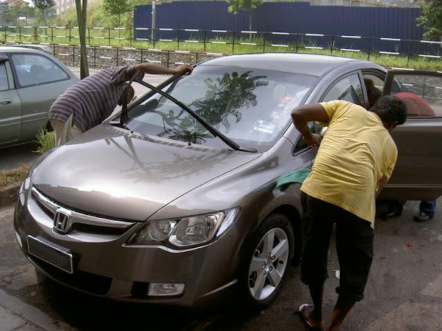 Cara Mencuci Kereta Dengan Betul