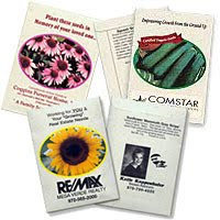 Earth Day Promotions Seed Packets