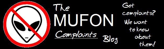MUFON Complaints Blog