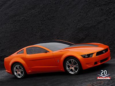 2000 Ford Mustang Bullitt Concept. Ford Mustang 2000-2009