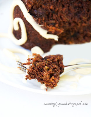 bite of cake  Carrot and Zucchini Cake