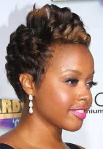 Chrisette Michele Hairstyles