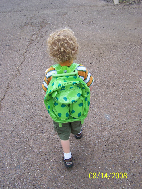 Coen off to tryout preschool..