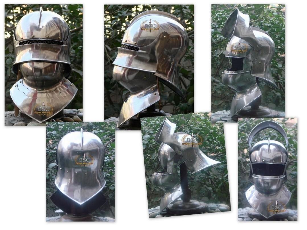 Helmets By Daniyal Visor Salet With Bever