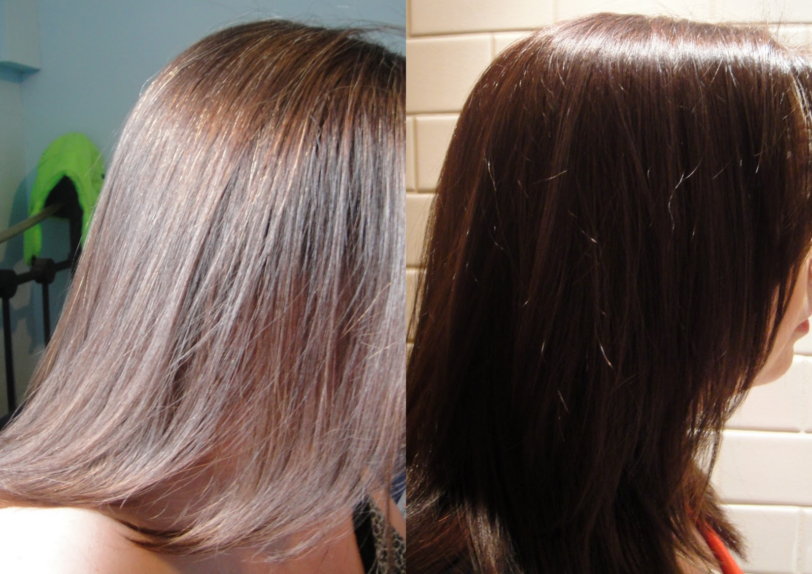 Brunette Hair Oil Color