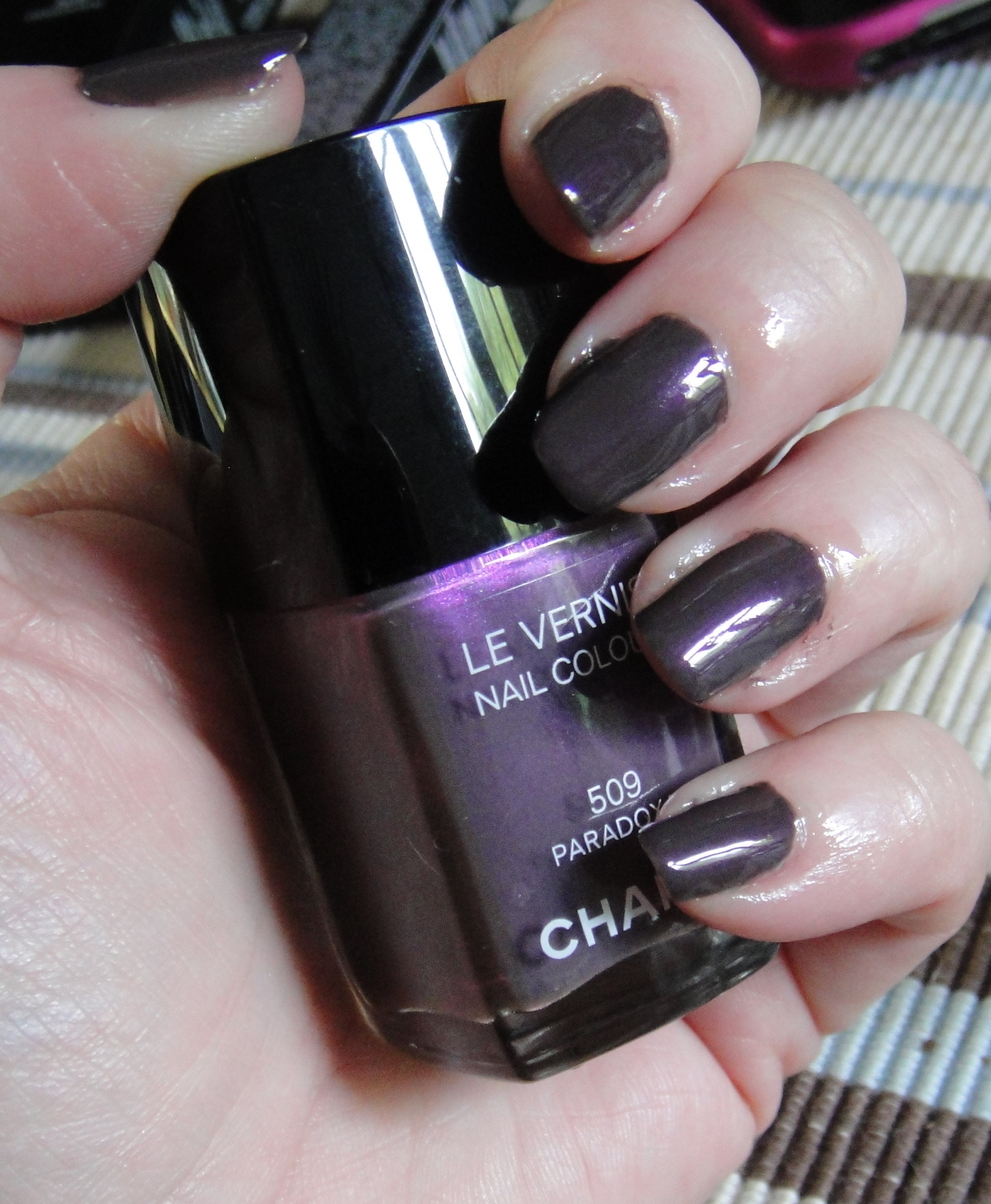 Nail of the Day: Chanel Paradoxal - Get Lippie