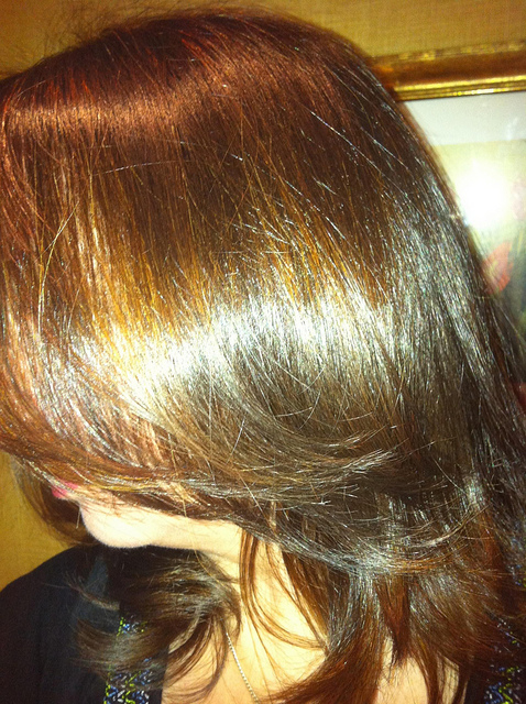 Natural Looking Highlights Dark Blonde Hair