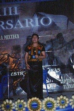 """Aniversario de la Radiodifusora Indigenista """"La voz de la Mixteca"""". Tlaxiaco.Oaxaca."""