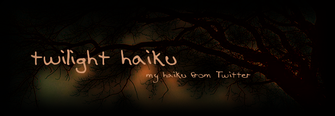 Twilight Haiku