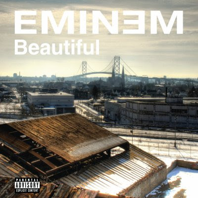 beautiful album cover eminem