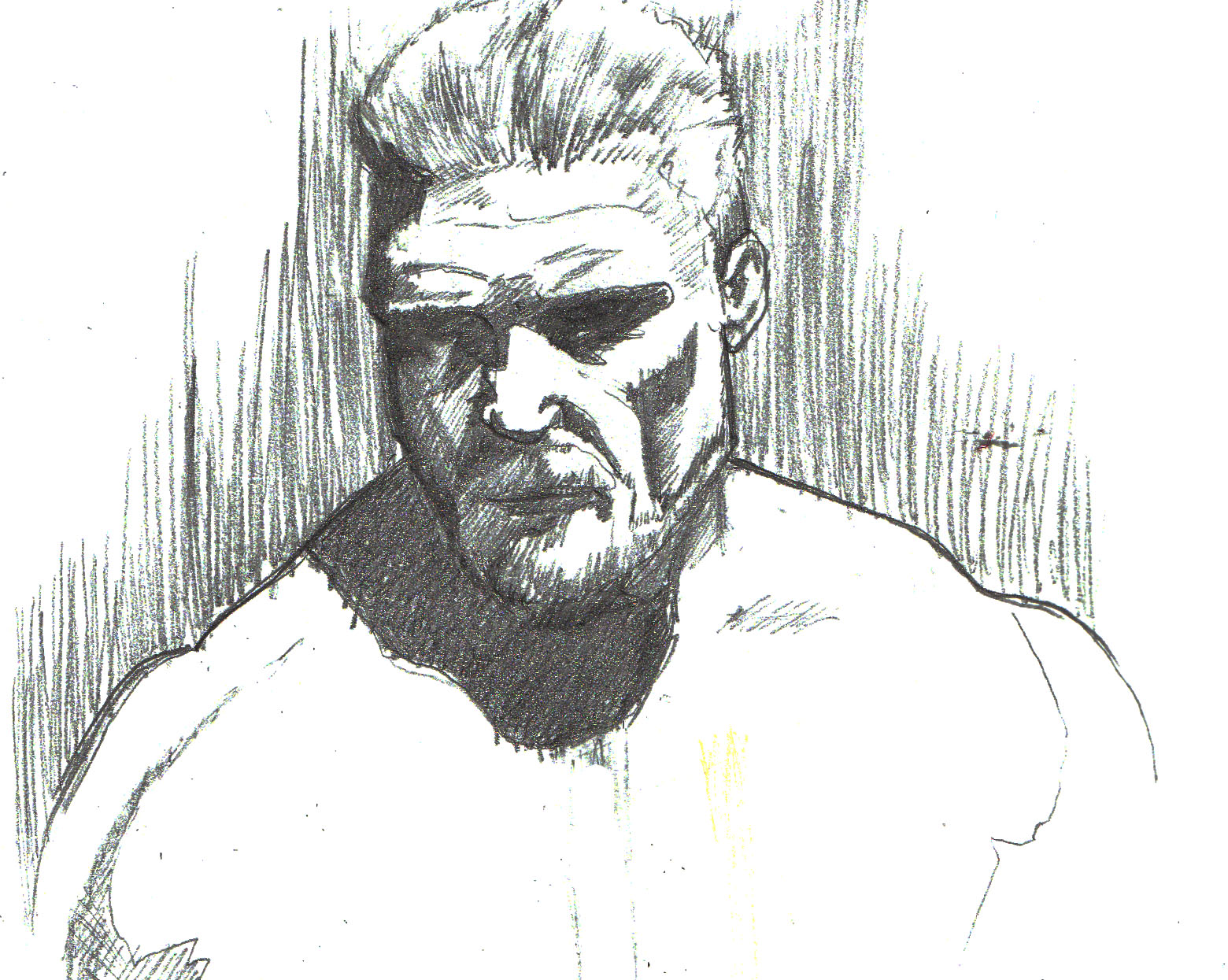 Brock Lesnar UFC Drawings