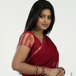 Sneha Looking Cute In Half Saree