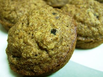 Gluten Free Apple sauce Raisin Spice Healthy Bran Muffins Dairy Free