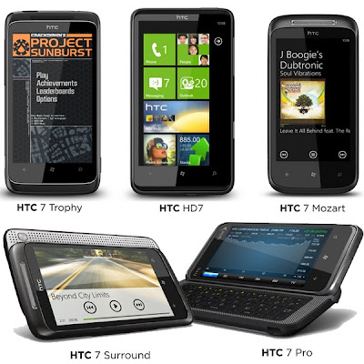 HTC introduced 5 new communicators based on Windows Phone 7 Seen  On www.coolpicturegallery.us