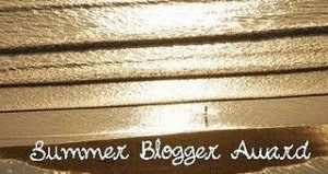 Summer blog award