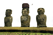 #4 - The Moai Statues of Easter Island