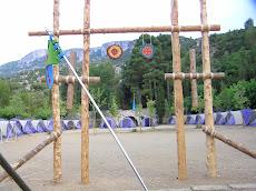 Campamento OJE Cataluña 2009