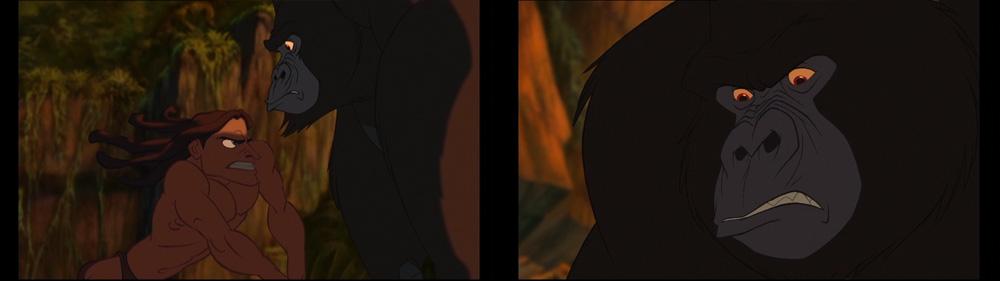 Colorful Animation Expressions: Tarzan - Kerchak: a ...