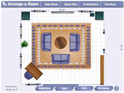 Arrange e room software