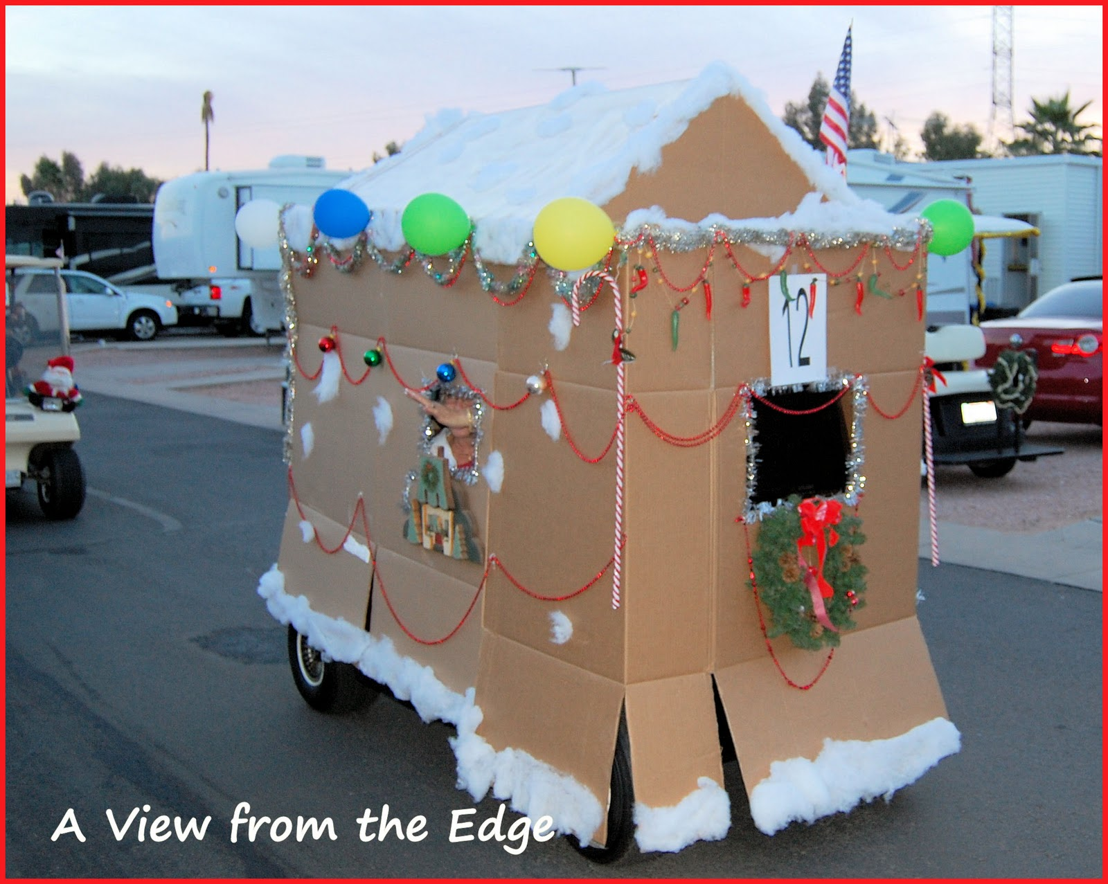A View from the Edge: Ring in the Holidays! Golf Cart Gingerbread House on golf trolley, golf games, golf machine, golf handicap, golf card, golf players, golf words, golf accessories, golf hitting nets, golf girls, golf buggy, golf cartoons, golf tools,