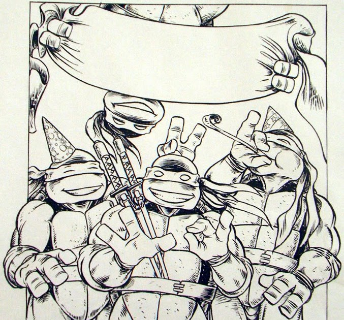 Peter Lairds Tmnt Blog Blast From The Past 160 Tmnt Birthday
