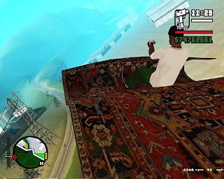 Tapete Voador para GTA San Andreas  Screenshot+2