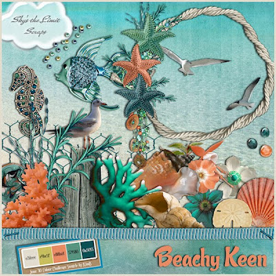 Beachy Keen Freebie by Skys The Limit
