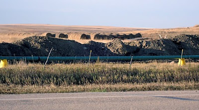 oil pipeline, ND