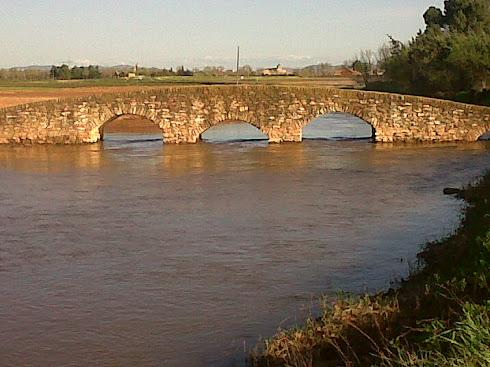 Puente de la Reina sobre el río Azuer, Manzanares.