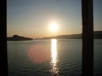 Puesta de Sol- Campelo- Ría Pontevedra.