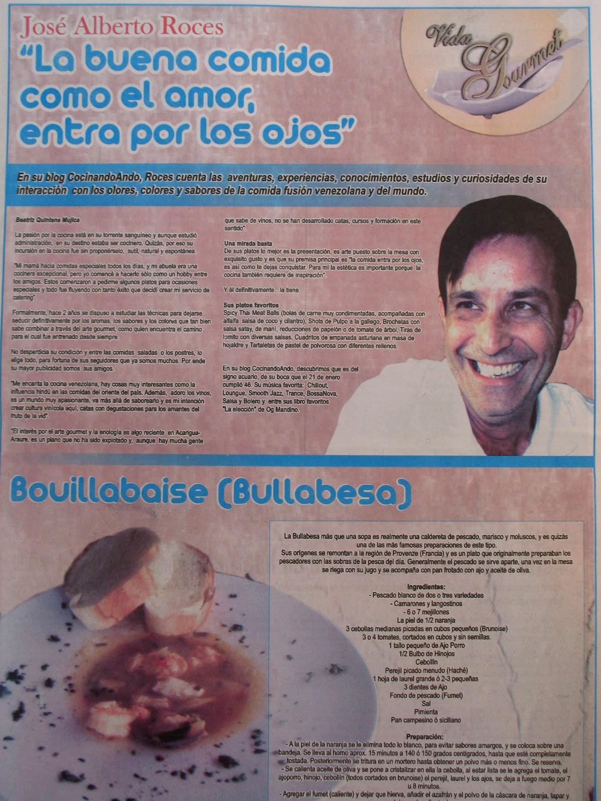 Cocinandoando entrevista diario ultima hora 30 01 2011 for Bmn clausulas suelo ultima hora