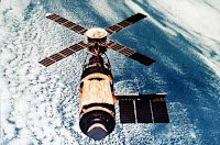 Solar cell used in Skylab