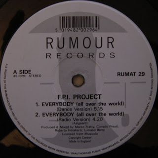 Classic house music fpi project everybody all over the for 1991 house music