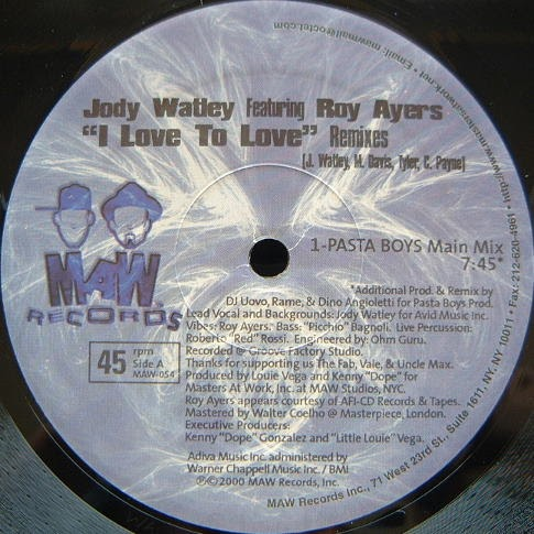 Classic house music jody watley feat roy ayers i love to for Old house music classics