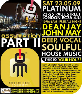 Soulful house music may 2009 for House music 2009