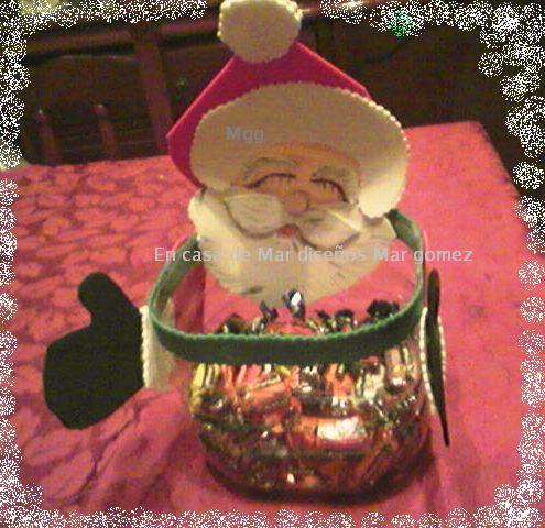En casa de mar dise os mar g mez porta caramelos para - Caramelos de navidad ...