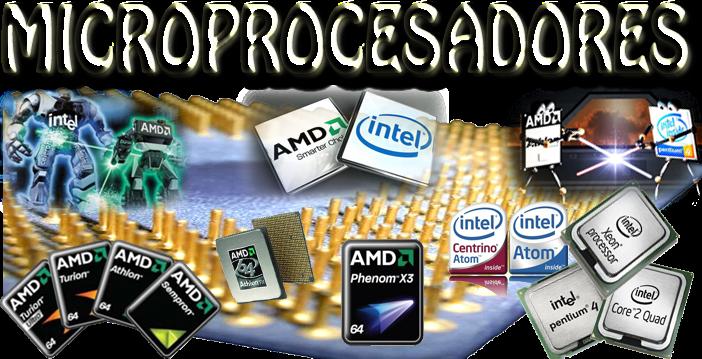 Microprocesadores, el cerebro de la computadora