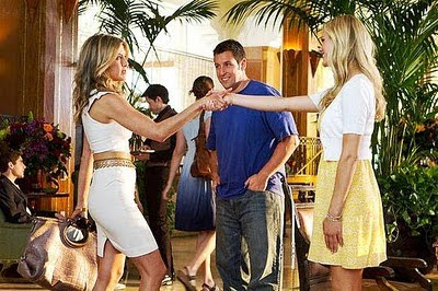 Just go with it, con Adam Sandler, Jennifer Aniston y Brooklyn Decker