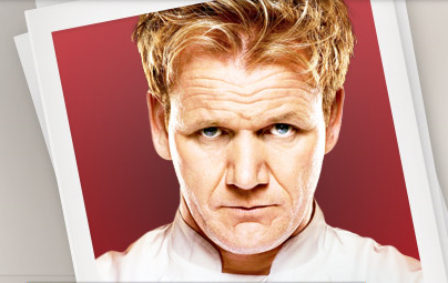 Hells Kitchen Cookbook on Hells Kitchen Master Chef Gordon Ramsay
