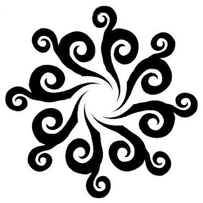 Tribal  Tattoo Designs on The Most Common Types Of Sun Tattoo Is The Tribal Design