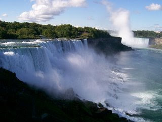 Niagara Falls one of the Seven Forgotten Natural Wonders of the World