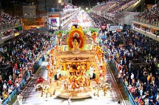 History of Carnival of Rio de Janeiro Brazil
