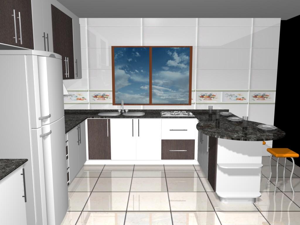 MÓVEIS CAVALI: Projeto Cozinha Bérgamo #224969 1024 768