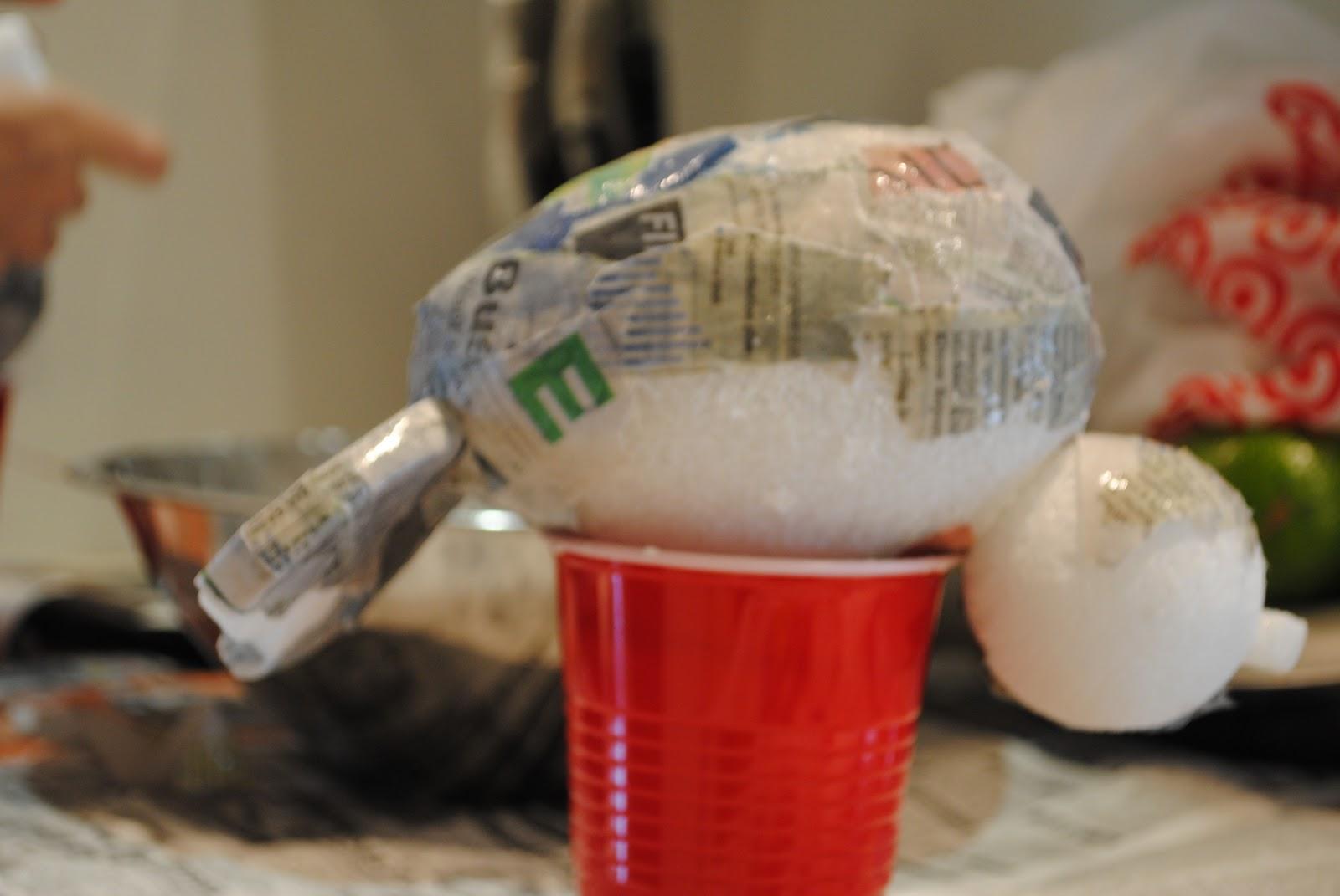 Jandjhome diy love birds for Buy paper mache glue